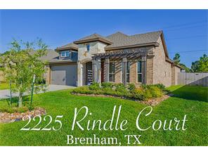2225 rindle ct, brenham, TX 77833